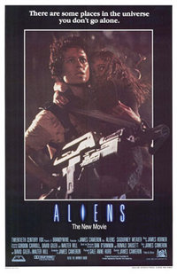 Film poster for Aliens