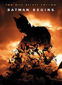 DVD cover of the Widescreen Deluxe Edition of Batman Begins.