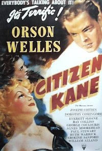 Orson Welles' Citizen Kane poster