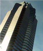 Nakatomi Tower (in real life actually known as Fox Plaza)
