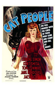 Poster art for Cat People (1942)