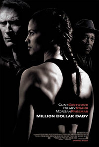 Promotional poster for Million Dollar Baby