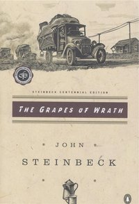 The cover of The Grapes of Wrath