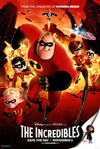 The Incredibles Theatrical Poster