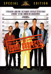 The Usual Suspects DVD cover